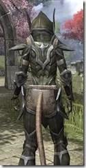 Dark Elf Orichalc - Khajiit Female Close Rear