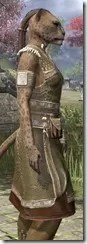 Deepwoods Pod-Singer Tunic Khajiit Female Close Side