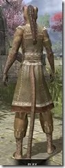Deepwoods Pod-Singer Tunic Khajiit Female Rear
