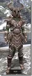 Draugr Iron - Argonian Male Front