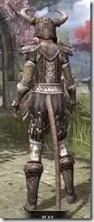 Draugr Iron - Khajiit Female Rear