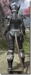 Ebony Iron - Khajiit Female Rear