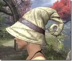 Fibonaccus Spiral Hat - Dyed Side