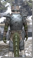 High Elf Iron - Argonian Male Close Rear