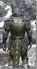 High Elf Orichalc - Argonian Male Close Rear