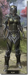 High Elf Orichalc - Khajiit Female Front