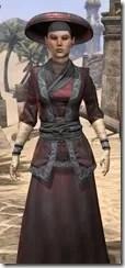 Honor Guard Ancestor Silk - Female Robe Close Front
