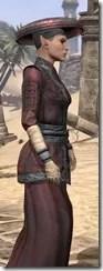 Honor Guard Ancestor Silk - Female Robe Close Side
