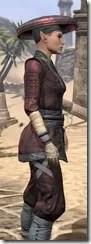 Honor Guard Ancestor Silk - Female Shirt Close Side