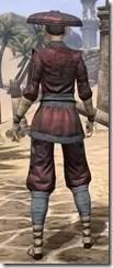 Honor Guard Ancestor Silk - Female Shirt Rear