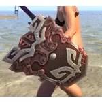 Honor Guard Ruby Ash Shield