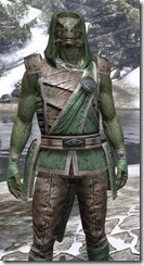 Imperial Homespun - Argonian Male Shirt Close Front