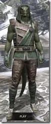 Imperial Homespun - Argonian Male Shirt Front