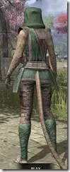 Imperial Homespun - Khajiit Female Shirt Rear