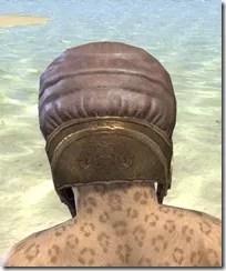 Imperial Mananaut Cap & Goggles - Khajiit Female Rear
