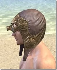 Imperial Mananaut Cap & Goggles - Male Side
