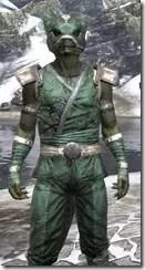 Khajiit Homespun - Argonian Male Shirt Close Front