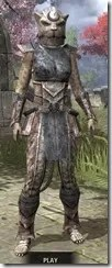 Khajiit Iron - Khajiit Female Front