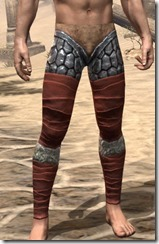 Lyris Titanborn's Greaves - Male Front
