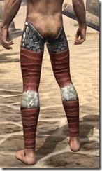 Lyris Titanborn's Greaves - Male Rear