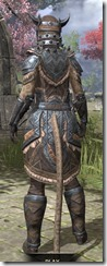 Malacath Iron - Khajiit Female Rear