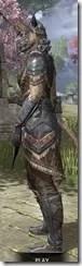 Malacath Iron - Khajiit Female Side