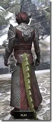 Meridian Light - Argonian Male Robe Rear