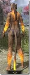 Meridian Purified - Khajiit Female Rear