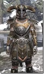 Nord Dwarven - Argonian Male Close Front