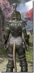 Orc Orichalc - Khajiit Female Close Rear