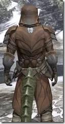 Outlaw Rawhide - Argonian Male Close Rear