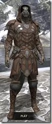 Outlaw Rawhide - Argonian Male Front