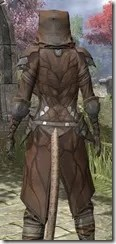Outlaw Rawhide - Khajiit Female Close Rear