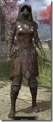 Outlaw Rawhide - Khajiit Female Front