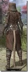 Outlaw Rawhide - Khajiit Female Rear