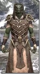 Primal Homespun - Argonian Male Robe Close Front