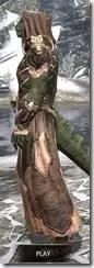 Primal Homespun - Argonian Male Robe Side