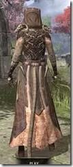 Primal Homespun - Khajiit Female Robe Rear