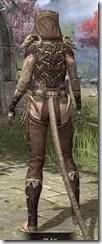 Primal Homespun - Khajiit Female Shirt Rear
