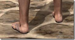 Prophet's Sandals - Male Rear