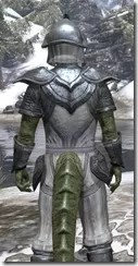 Redguard Iron - Argonian Male Close Rear