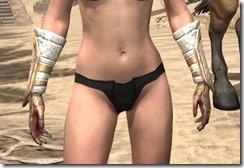 Sai Sahan's Bracers - Female Front