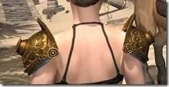 Stonekeeper Pauldrons - Female Rear