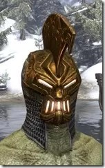 Stonekeeper Visage - Argonian Male Front