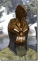 Stonekeeper Visage - Argonian Male Front