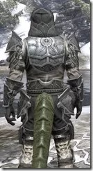 Thieves Guild Iron - Argonian Male Close Rear