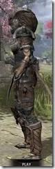 Wood Elf Dwarven - Khajiit Female Side