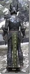 Xivkyn Iron - Argonian Male Rear