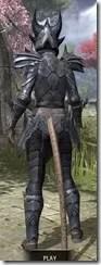Xivkyn Iron - Khajiit Female Rear