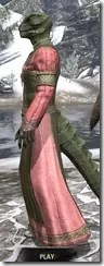 Bardic Tavern Singer's Dress Argonian Male Side